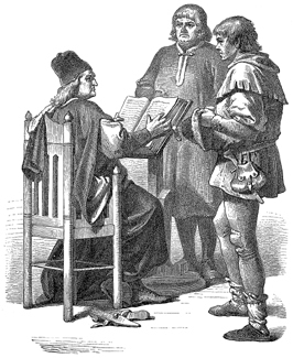 15th Century: Judge, Townsman, and Peasant
