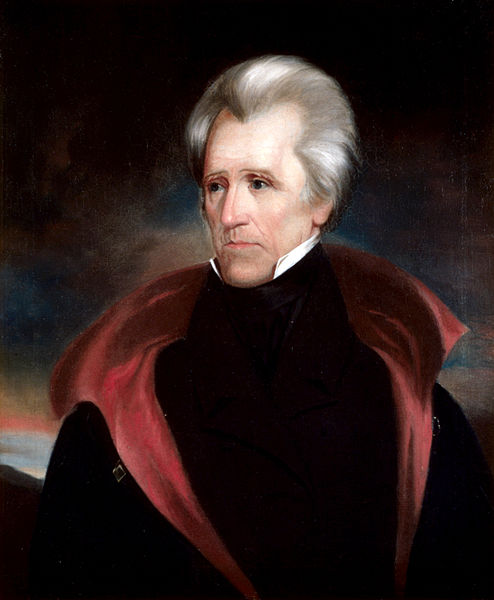 Andrew Jackson, 7th President of the USA