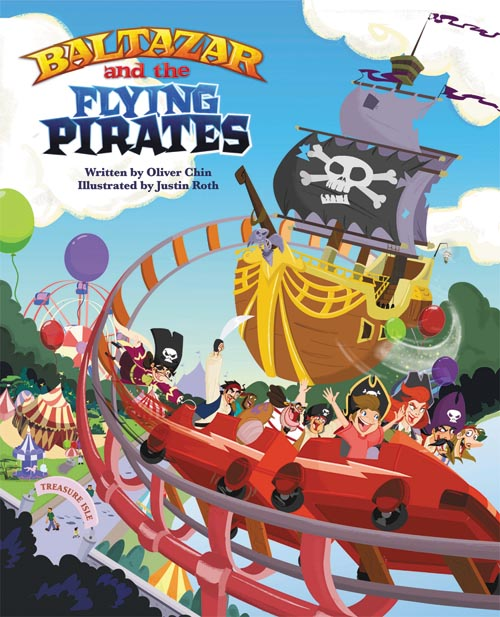 Cover Art: Baltazar and the Flying Pirates