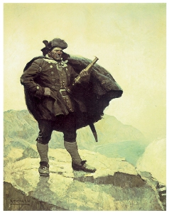 N. C. Wyeth's Billy Bones from<br /><br /><br />             Treasure Island