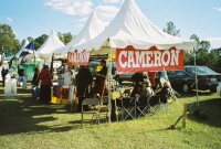 Clan Cameron Tent