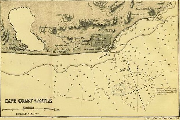 Map depicting Cape