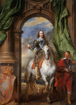 Charles I of England by Arthur Van