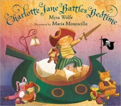 Cover Art: Charlotte Jane Battles Bedtime