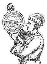 Using an astrolabe
