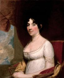 Dolley Madison by Gilbert Stuart