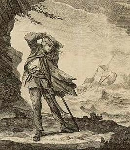 Edward Low in a hurricane