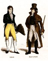 Braun & Schneider's Historic Costume -- Empire Style