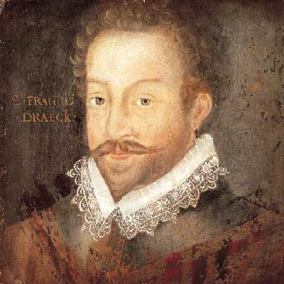 Francis Drake as a sea captain
