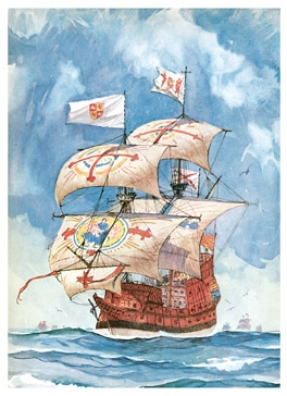Pirates privateers the history of maritime piracy a pirate lexicon spanish galleon publicscrutiny Choice Image