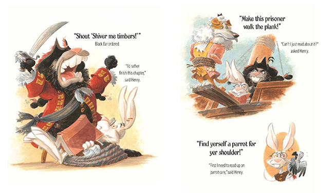 Sample Page from Henry &