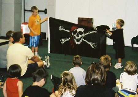 Displaying the Jolly Roger
