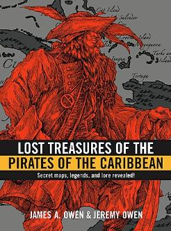 Cover Art: Lost Treasures of the Pirates of the Caribbean