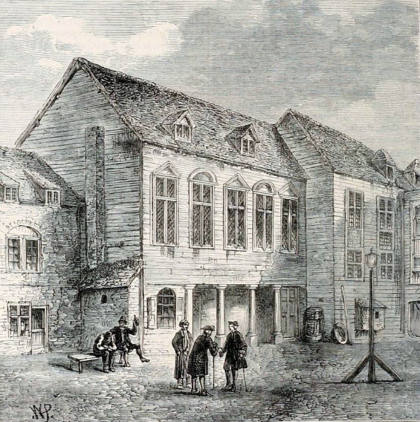 First Marshalsea Prison in Southwark, 14th