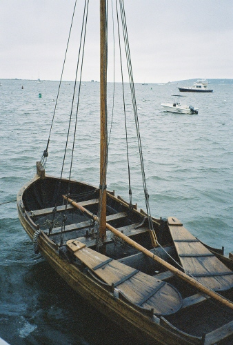 Mayflower II's boat