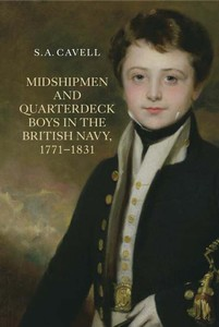 Cover Art: Midshipmen and Quarterdeck Boys in the British Navy