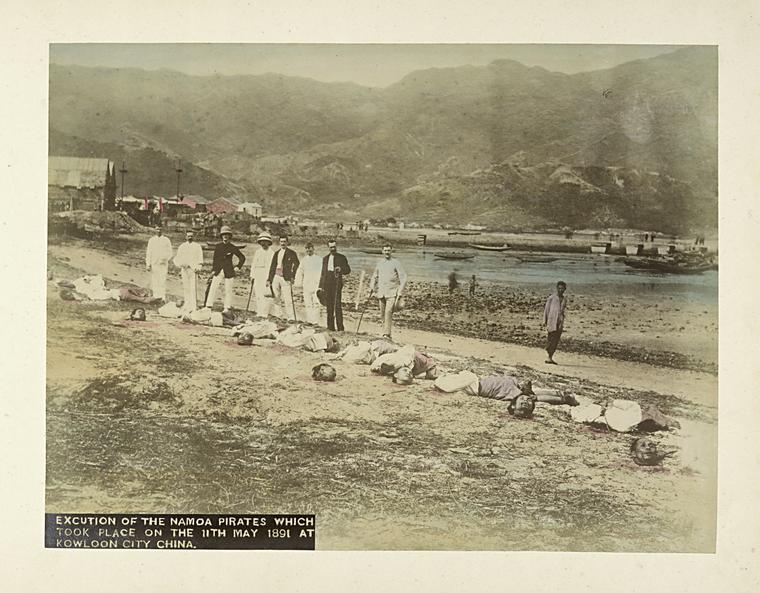 Aftermath of execution of Namoa pirates