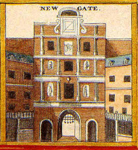 New Gate from 1690 London Map (originally taken