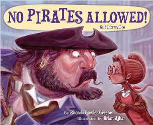 Cover Art: No Pirates Allowed!