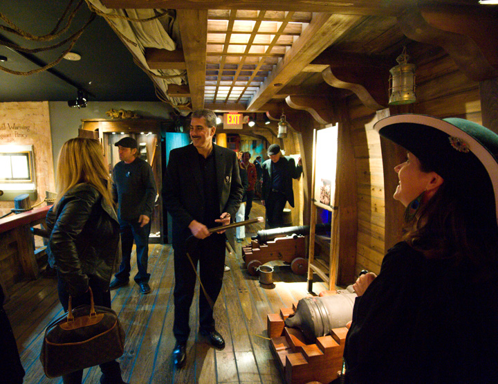 Pirate Museum Gun Deck