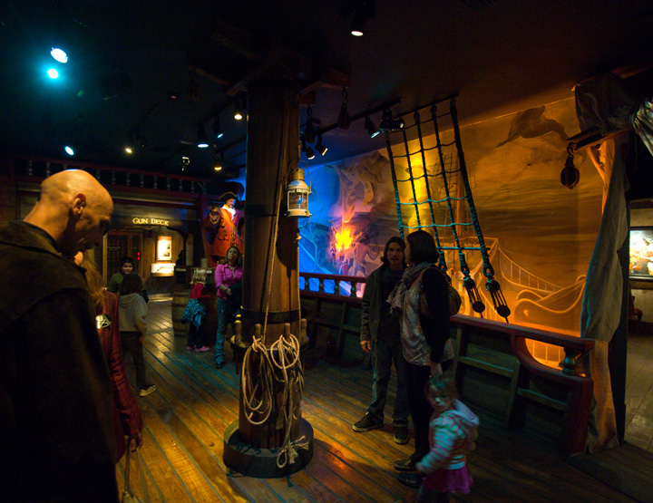 Main Deck, Pirate Museum