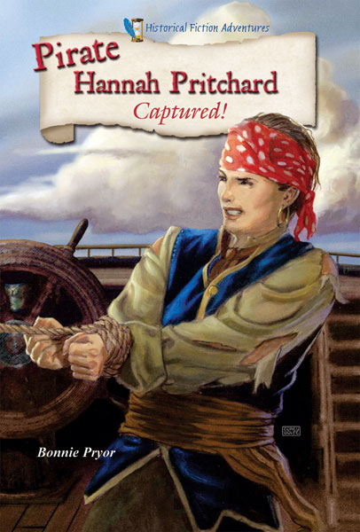Cover Art: Pirate Hannah Pritchard Captured!