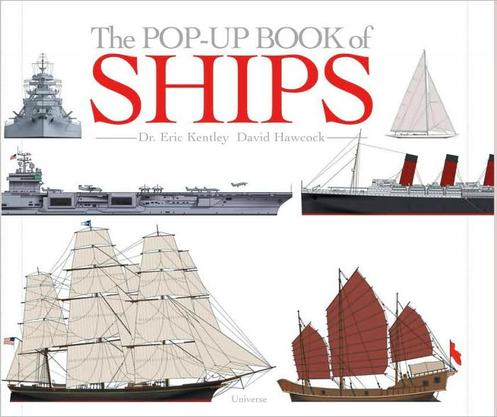 Cover Art: The Pop-up Book of Ships