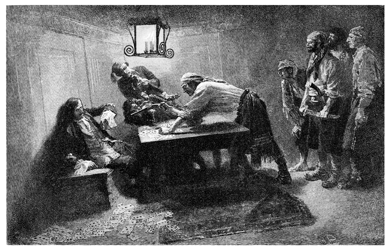 Howard Pyle's engraving of Pierre Le Grand