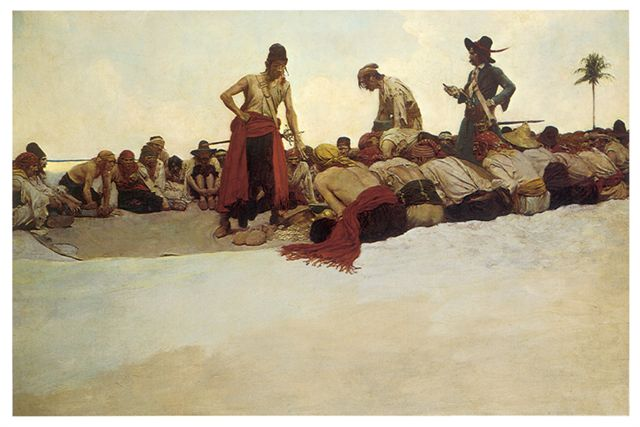 So the Treasure Was Divided by Howard