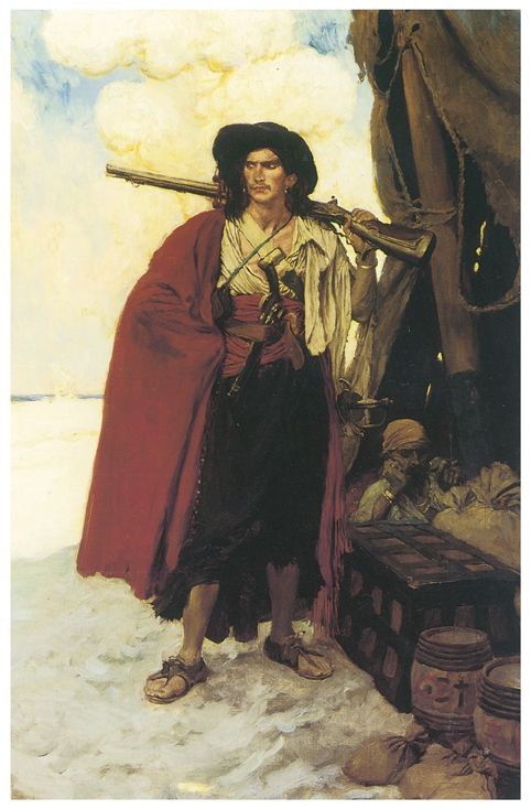Gentleman Pirate by Howard Pyle