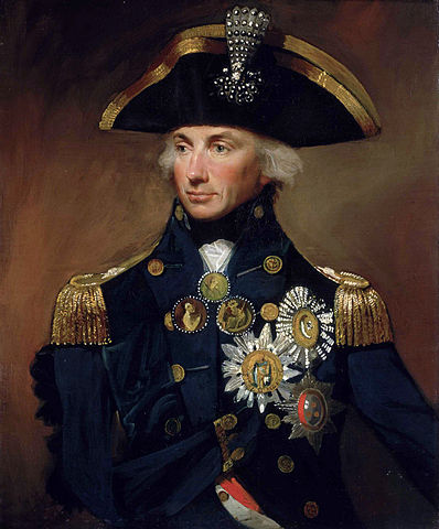 Rear-Admiral Sir Horatio Nelson by Lemuel