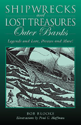 Cover Art: Shipwrecks and Lost Treasure Outer Banks