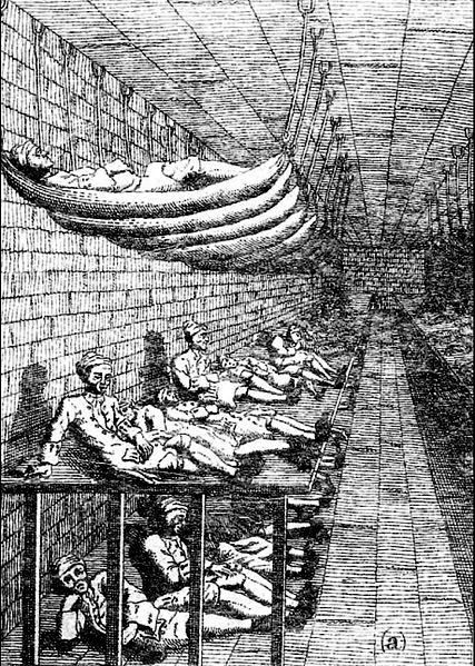 Sick Men's Ward at the Marshalsea for Parliament