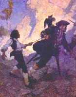 Jim Hawkins & Long John
