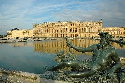 Photograph of Versailles by Marc Vassal,
