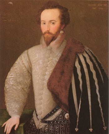 Sir Walter Raleigh by H., 1588