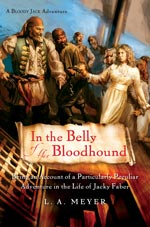 Cover Art: In the Belly of the Bloodhound by L. A. Meyer