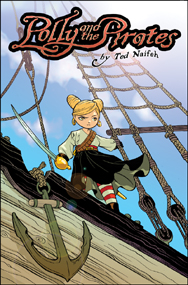 Cover Art: Polly and the Pirates