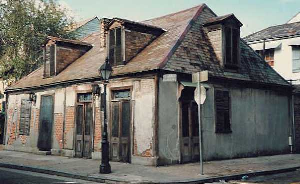 Laffite's Blacksmith Shop (Laffite never owned property)