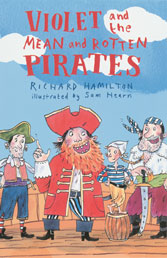 Cover Art: Violet and the Mean and Rotten Pirates